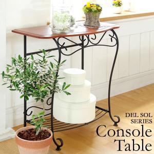 コンソールテーブル 飾り棚 壁 木製 電話台|tycoon
