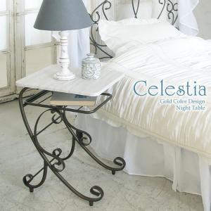 サイドテーブル アンティーク ベッド 木製 ナイトテーブル|tycoon
