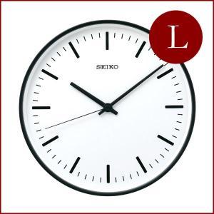 SEIKO セイコー スタンダード アナログクロック (Lサイズ) KX308 電波時計|tycoon