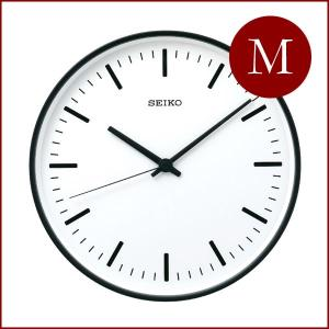 SEIKO セイコー スタンダード アナログクロック (Mサイズ) KX309 電波時計|tycoon