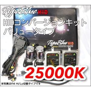 TypeBlue HIDフルキット35W H8 25000K バリューモデル【3年安心保証】|typebluejp