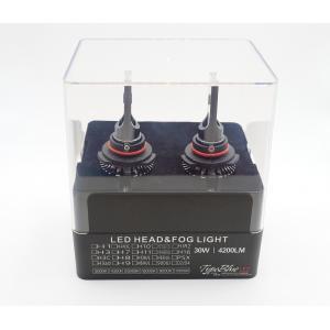 トヨタ ラクティス 専用設計 TypeBlue Smart LEDキット30W HIR2 6000K 【永年保証】|typebluejp