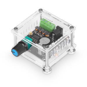 PAM8610 Mini デジタル パワーアンプ 15W×2 ステレオ2.0 オーディオアンプ ボード (ケース付き)