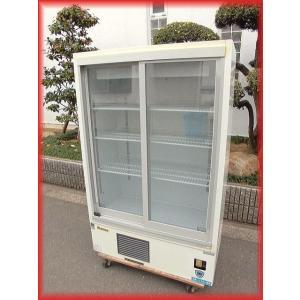 冷蔵ショーケース リーチイン 中古 スライド扉 311AU-15 301L 900×450×1420mm 2015年製 ダイワ 厨房機器|tyubo110