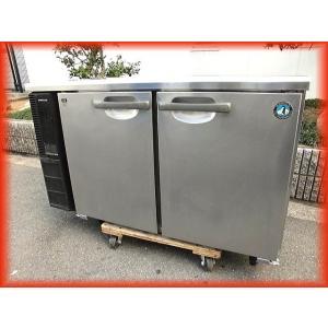 冷蔵庫 業務用 中古 2ドア 台下冷蔵庫 ホシザキ 1200×450mm 185L RT-120PTE1 テーブル型 2013年製 コールドテーブル  厨房器機|tyubo110