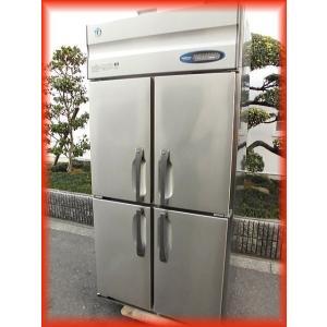 冷凍庫 業務用 中古 美品 ホシザキ HF-90ZT3-ML タテ型 4ドア冷凍庫 900×650mm 603L スリムサイズ 厨房器機 大阪発b|tyubo110