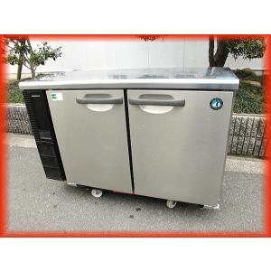 冷蔵庫 業務用 中古 2ドア 台下冷蔵庫 ホシザキ 1200×450mm 173L RT-115PTE テーブル型 2009年製 コールドテーブル 厨房器機|tyubo110