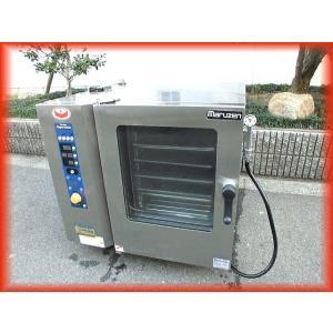 スチームコンベクション オーブン 電気 業務用 中古 マルゼン SSC-05RSC 200V 卓上型 芯温センサー付 2014年製 厨房機器 i|tyubo110