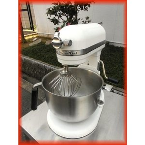 スタンドミキサー キッチンエイド 卓上ミキサー FMI KSM7WH アーム式 2012年製 訳アリ 厨房機器 i|tyubo110