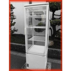 冷蔵ショーケース 中古 5面ガラス スイング扉 AGV-150X150-C 216L 500×535×1608mm サンデン 2009年 厨房機器|tyubo110