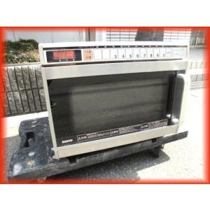 電子レンジ 業務用 中古 コンビニ 飲食店 レストラン EM-1103 単相200V 2200W サンヨー 卓上型 厨房機器i|tyubo110