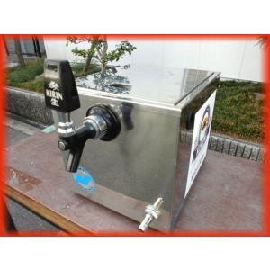 氷冷式 ビールサーバー  電源不要 ニットク CP-2 屋台 出店 キリン 卓上型 中古厨房 厨房機器 i690|tyubo110