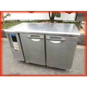 冷蔵庫 業務用 中古 ホシザキ テーブル型 2ドア 台下冷蔵庫 1200×600mm 240L RT-120MNF コールドテーブル 2018年製 厨房器機(2) b|tyubo110