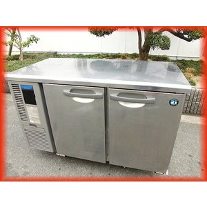 冷蔵庫 業務用 中古 ホシザキ テーブル型 2ドア 台下冷蔵庫 1200×600mm 240L RT-120MNF コールドテーブル 2018年製 厨房器機(3) b|tyubo110