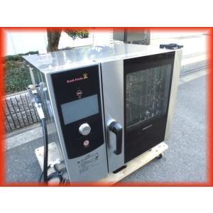 スチームコンベクション オーブン 電気 業務用 2020年製 中古 ホシザキ MIC-5HCT3 200V クックエブリオ Sクラス 卓上型 芯温センサー付|tyubo110