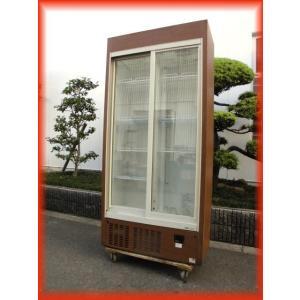 冷蔵ショーケース リーチイン 中古 スライド扉 SRM-RV319SM 310L 900×450×1900mm 2011年製 サンヨー 厨房機器|tyubo110