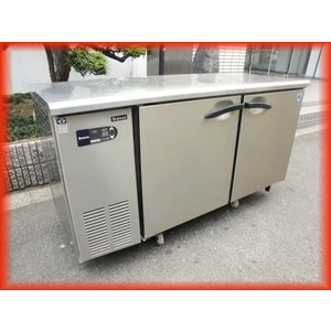 冷蔵庫 業務用 中古  2ドア 台下冷蔵庫 1500×600mm 328L ダイワ 5061CD-EC マイコン制御 2014年製 コールドテーブル  厨房器機 b|tyubo110