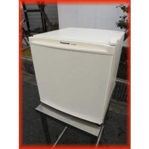 冷蔵庫 中古 1ドア冷蔵庫 パナソニック 460×496×488mm 45L NR-A50WA 2017年製 サイコロ型 ノンフロン冷蔵庫(2)|tyubo110