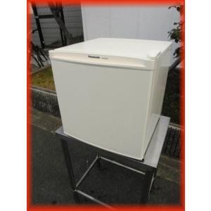 冷蔵庫 中古 1ドア冷蔵庫 パナソニック 460×496×488mm 45L NR-A50WA 2017年製 サイコロ型 ノンフロン冷蔵庫(1)|tyubo110