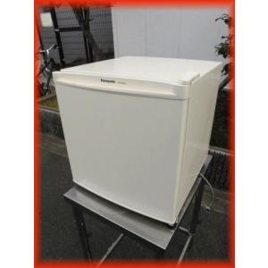 冷蔵庫 中古 1ドア冷蔵庫 パナソニック 460×496×488mm 45L NR-A50WA 2016年製 サイコロ型 ノンフロン冷蔵庫b|tyubo110