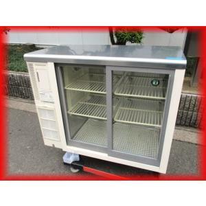 冷蔵ショーケース 業務用 中古 RTS-90STB スライド扉 テーブル型 ホシザキ 900×450×800mm 150L 厨房用品F|tyubo110