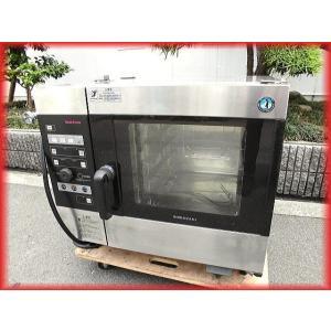 スチームコンベクションオーブン 電気 業務用 中古 ホシザキ MIC-5TB3 クックエブリオ 卓上型 芯温センサー付 厨房機器 i|tyubo110