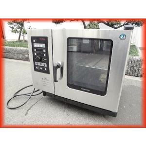 スチームコンベクション オーブン 電気 業務用 中古 ホシザキ MIC-6SA3 200V クックエブリオ 卓上型 芯温センサー付 厨房機器 i|tyubo110