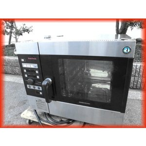 スチームコンベクション オーブン 電気 業務用 中古 ホシザキ MIC-5TA3 200V クックエブリオ 卓上型 芯温センサー付 厨房機器 i|tyubo110