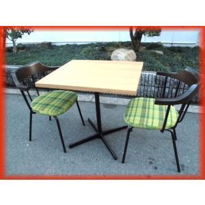 業務用 イス テーブル 4セット (テーブル×4 イス×8)カフェ 椅子 店舗用品 美品 ご家庭でも 引取り歓迎 大阪発 (1)|tyubo110