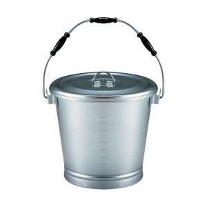 アルマイト 丸型一重食缶(にぎり3ヶ付) 215 14L|tyubou-byonho