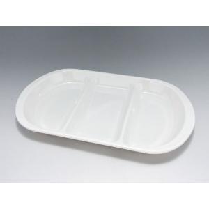 【数量限定☆特別価格】 韓国製メラミン食器 DS-2 小判皿 三ツ仕切|tyubou-byonho