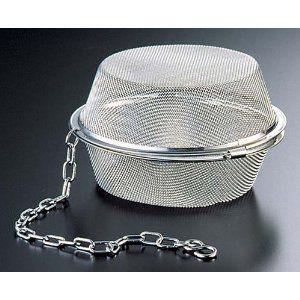 リトルウッド 18-8 平型茶こしボール 105mm  品番:L-0315|tyubou-byonho