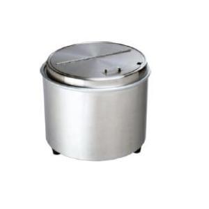 エバーホット ステンレス型 スープウォーマー(蒸気熱保温) NL-16S 16L|tyubou-byonho