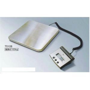 シンワ 隔測式デジタル台はかり 100kg 【 70108 】 取引証明以外用 tyubou-byonho