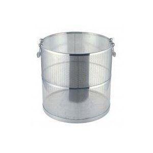 【受注生産品(約1ヶ月)】UK 18-8 パンチング スープ取りざる 丸型  48cm用|tyubou-byonho