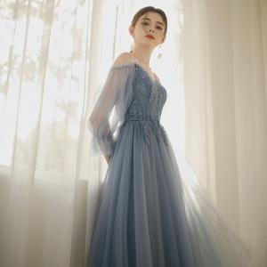 ナイトドレス 花嫁ドレス 大きいサイズ チュールワンピース イブニングドレス スエレガンス パーティ...