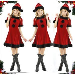 短納期コスプレ大きいサイズ クリスマス 衣装 大きいサイズ サンタクリスマス 大きいサイ仮装衣装 大きいサイズ サンタクロース 赤/黒