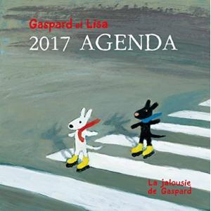 Gaspard et Lisa 2017 AGENDA La jalousie de Gaspard リサとガスパール 2017ダイアリー|tywith2