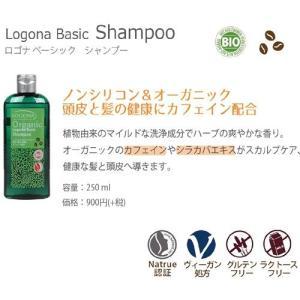 日本正規輸入品・日本限定品 ロゴナ ベーシック シャンプー 250ml(すっきり洗える)