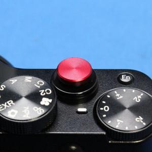 F-Foto ソフトレリーズシャッターボタン フラットタイプ 『各社カメラ対応』 (フラット、レッド...
