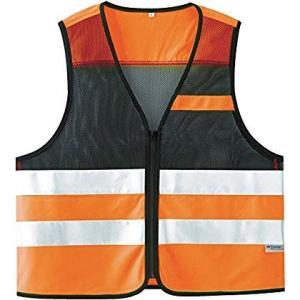 ミドリ安全 高視認性安全ベスト 蛍光オレンジ 4073160080 安全ベスト|tywith2