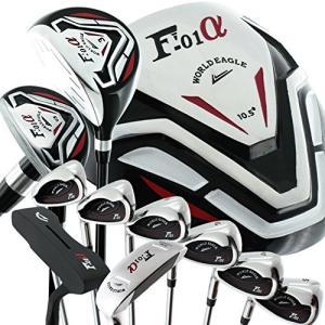 WORLD GOLF(ワールドゴルフ) ワールドイーグル バッグなしWE-F-F-01α メンズクラブセット左用-S CROSS-MODEL|tywith2