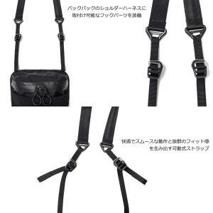 """ベルーフ サコッシュ""""ZIPPY 2.0"""" 日本製 タブレット収納 2L ブラック"""
