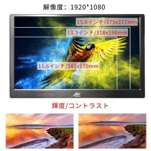 モバイルモニターKenowa モバイルディスプレイ15.6インチ1920 * 1080 HD LED ips ディスプレイ スクリーン ダブ|tywith