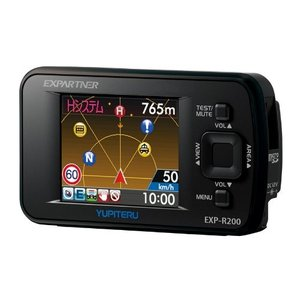 ユピテル レーダー探知機 GPSアンテナ内蔵 ワンボディ EXP-R200|tywith