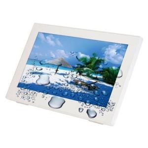 ワイヤレス防水テレビ LE-W100TS-WH 10インチ|tywith