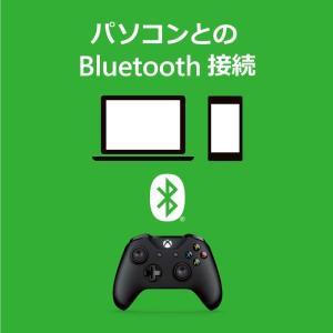 マイクロソフト ゲームコントローラー Bluetooth/有線接続/xbox one/Windows対応 PC用USBケーブル同梱 4N6-|tywith