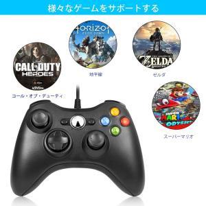 U-KISS コントローラーXbox 360 ゲームパッド PC 有線ゲームパッド USB接続 Microsoft Xbox&Slim 36|tywith