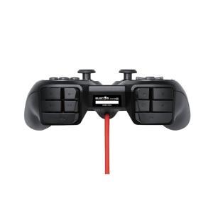 エレコム ゲームパッド <DUX> USB 24ボタン MMO向け ブラック JC-DUX60BK|tywith