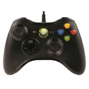 マイクロソフト ゲームコントローラー 有線/Xbox/Windows対応 ブラック Xbox360 ...